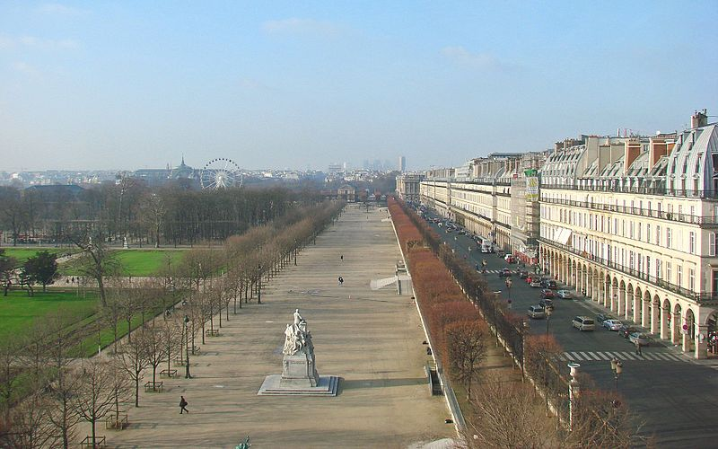 Rue de Rivoli, paris attractions