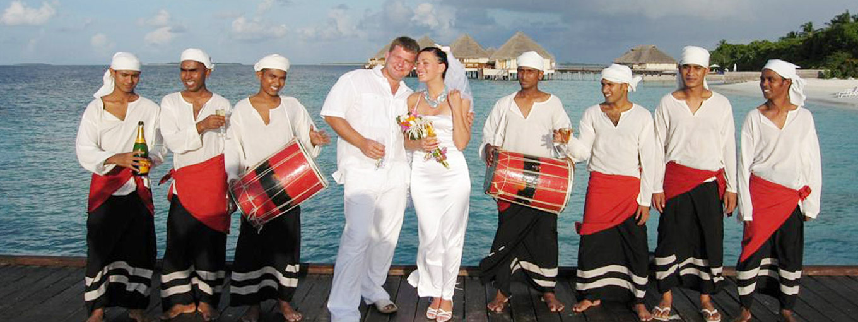 Wedding Ceremony at Adaaran Prestige Water Villas