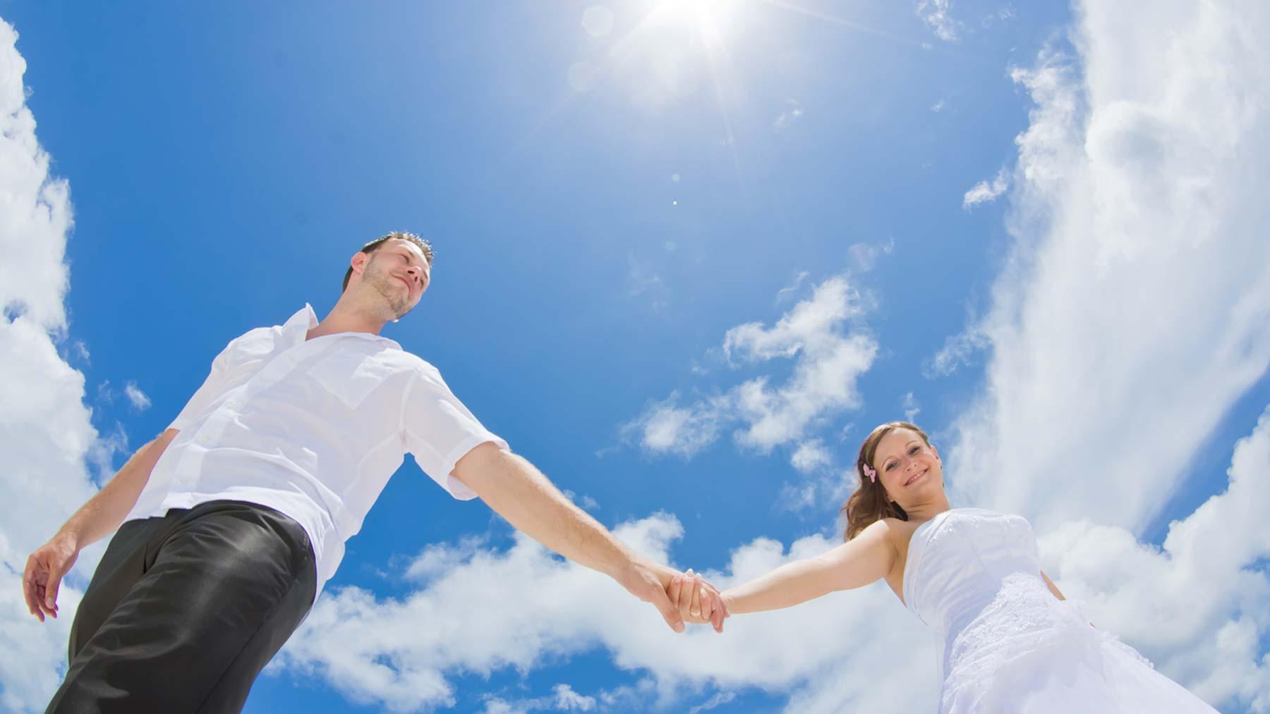 Renewal Of Vows, Romantic Beach Wedding
