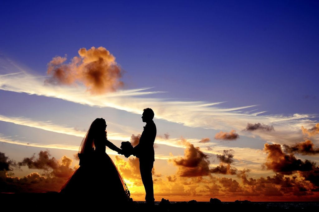 Beach Wedding   Photo via Pixabay by - StockSnap , CC0 Public Domain