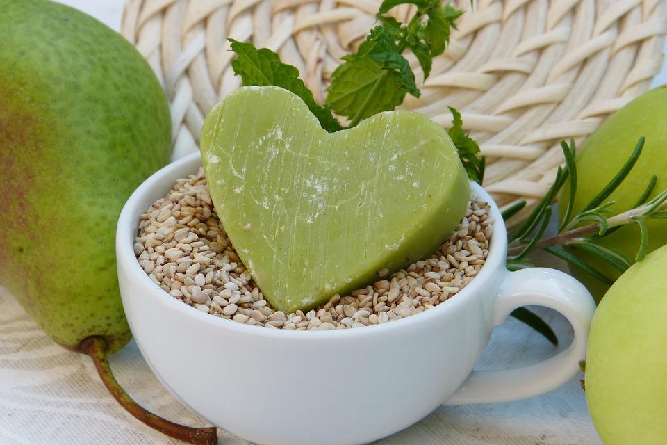 Soap Green Sesame