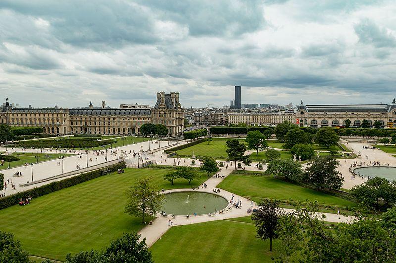 Tuileries Garden Luftbild | Image Credit - dronepicr, CC BY 2.0 Via Wikimedia Commons